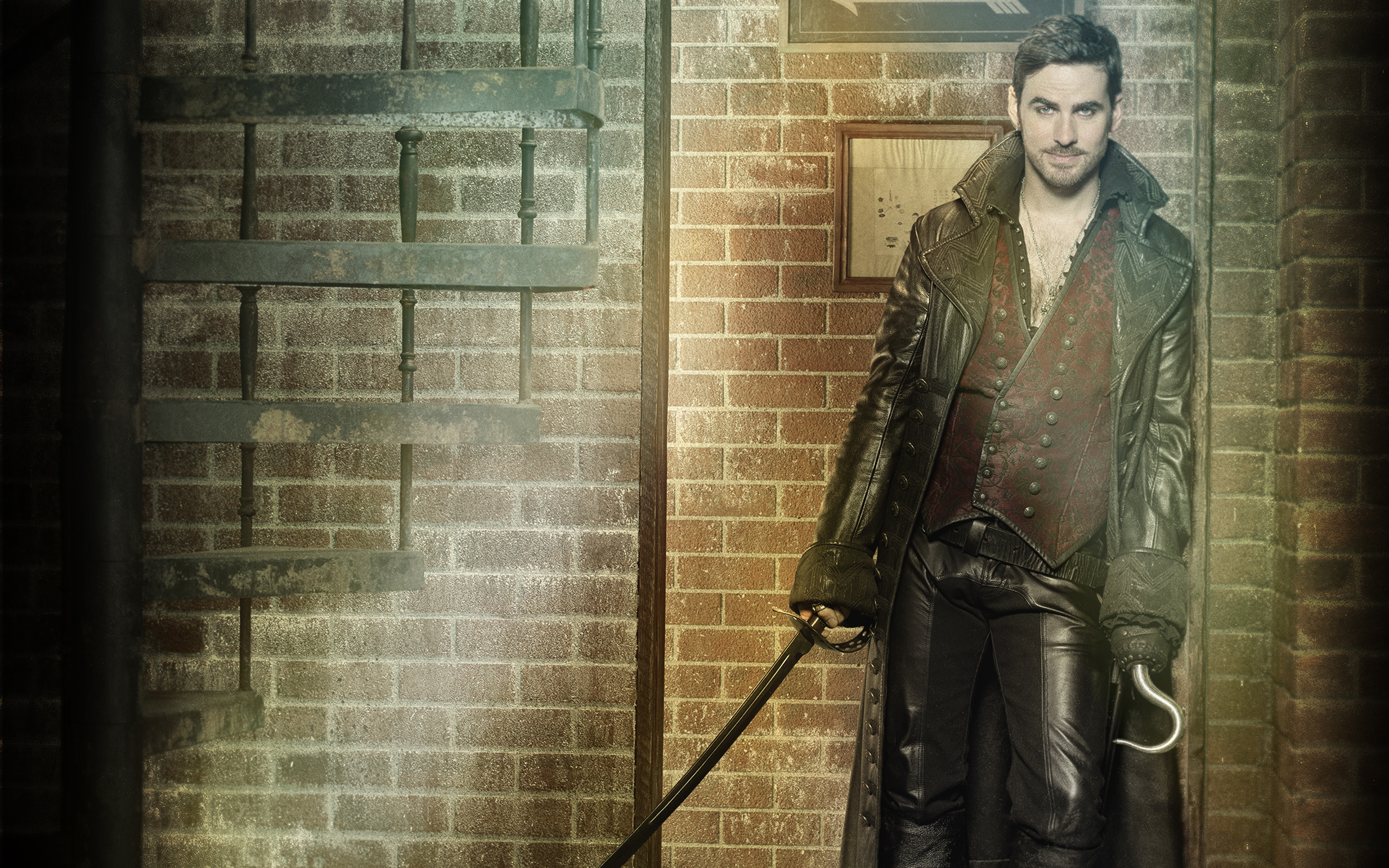 Once Upon A Time Hook Wallpaper High Quality On High Once Upon A