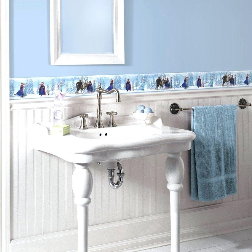 Bathroom Wallpaper Border Ideas