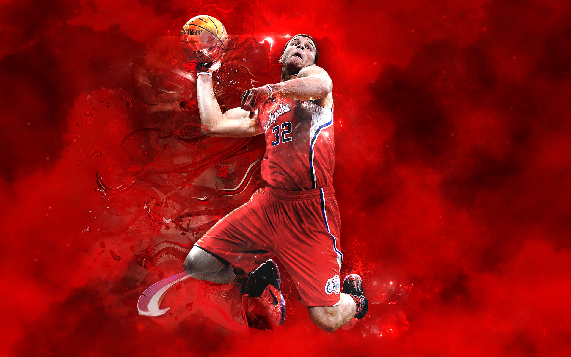 Blake Griffin Full Hd - Nba Live 17 Cover Athlete , HD Wallpaper & Backgrounds