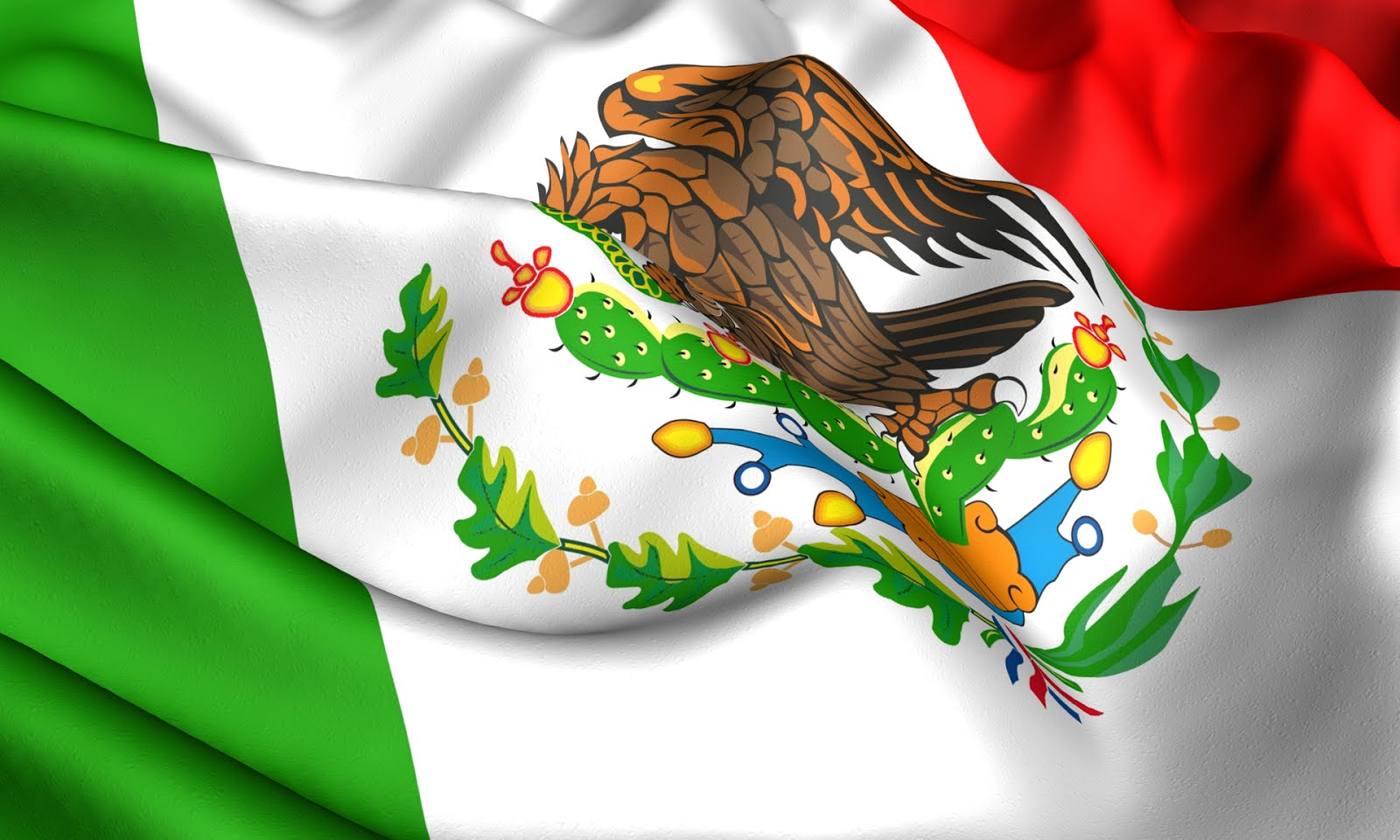 Mexican Flag Eagle (#1624403) - HD Wallpaper & Backgrounds Download