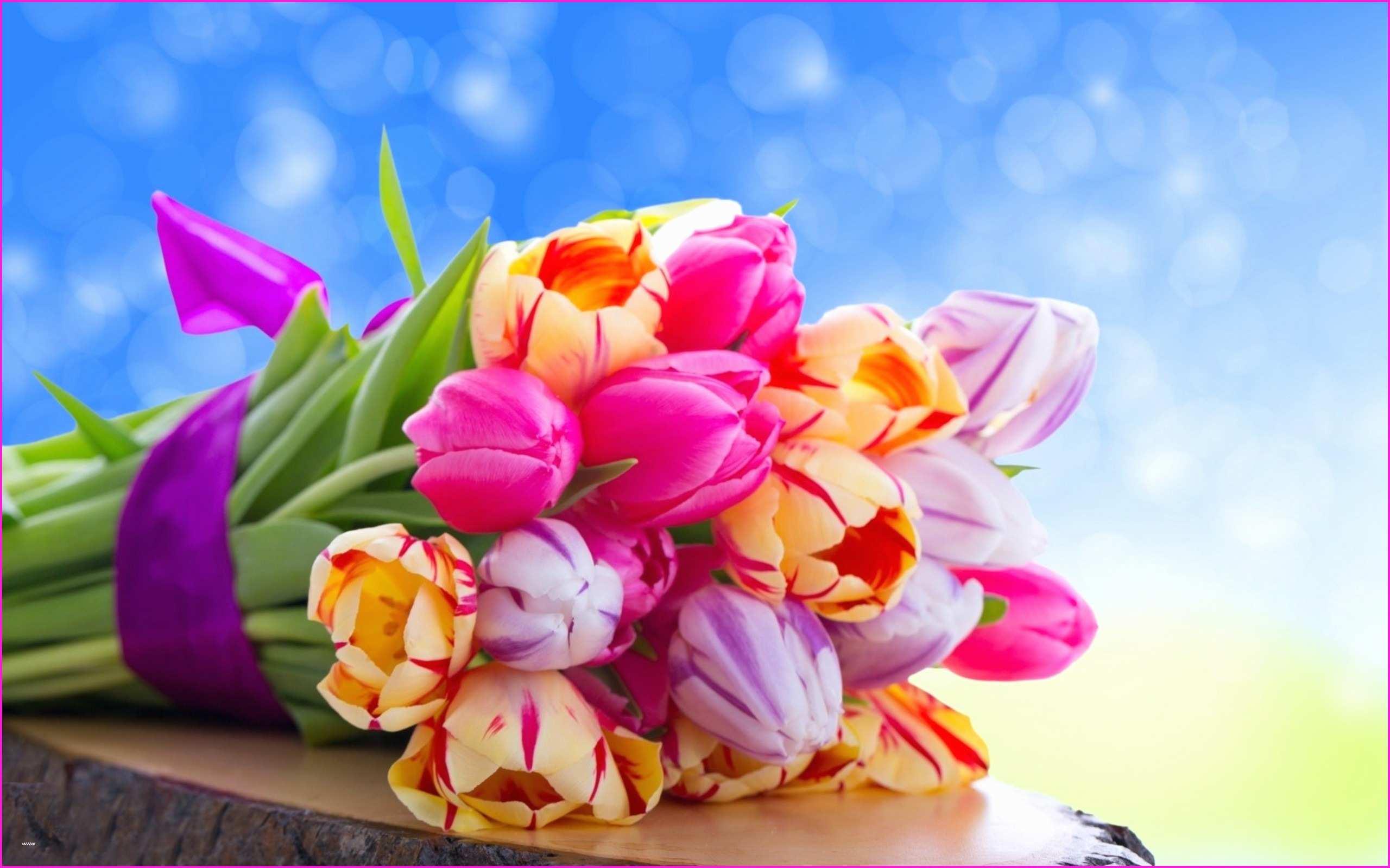Bouquet Of Flowers Tulips Pleasant Bouquet Of Tulips - Beautiful Love Wallpapers For Desktop Full Screen , HD Wallpaper & Backgrounds