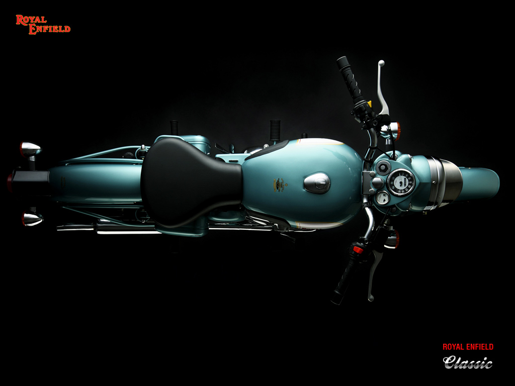 View Full Size - Royal Enfield Classic 350 Top View , HD Wallpaper & Backgrounds