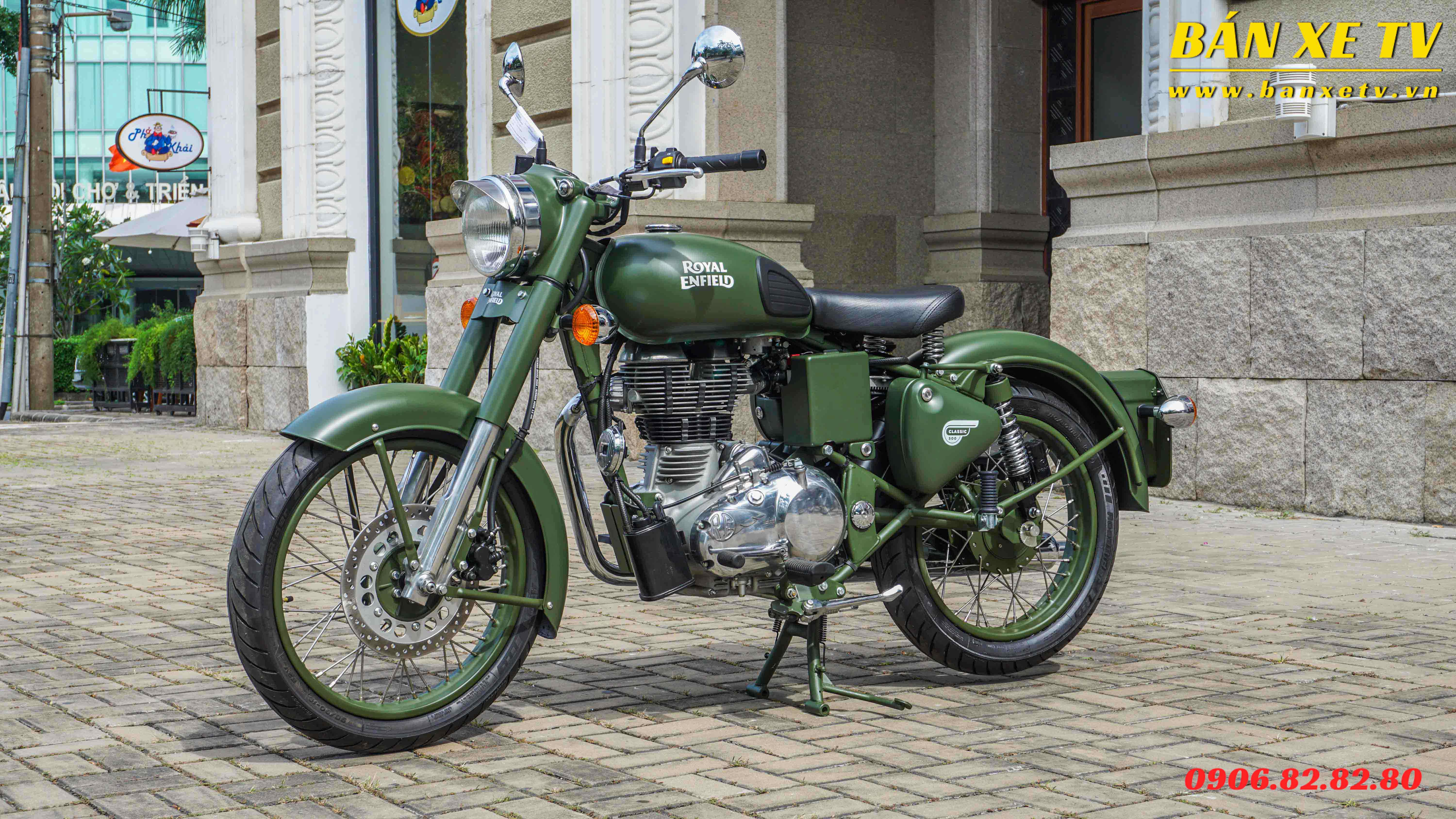 Royal Enfield Classic 500 Wallpaper