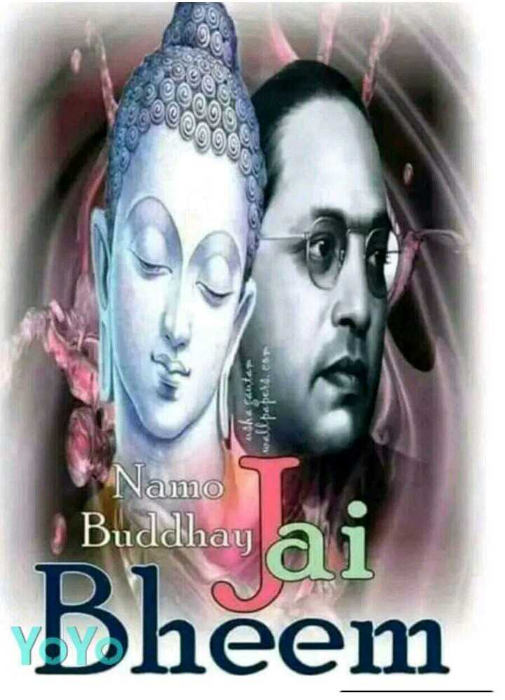 🙏jay Bhim Namo Buddhay🙏 - Namo Buddhay Jay Bhim , HD Wallpaper & Backgrounds