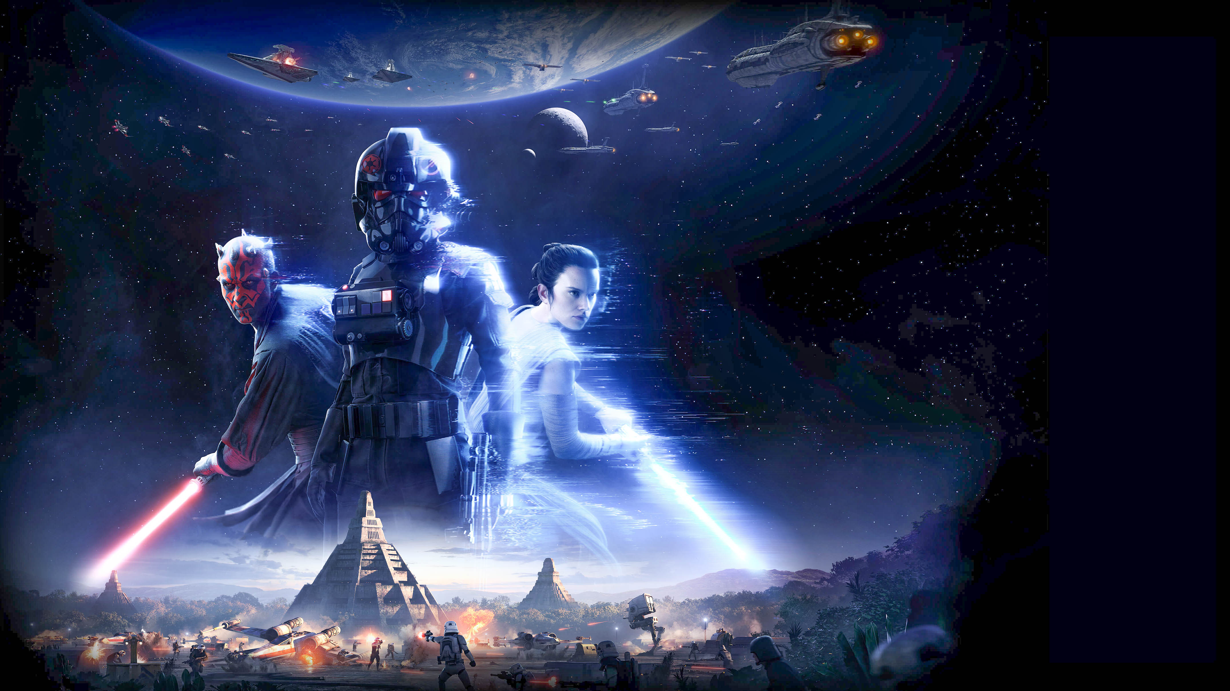 Wallpapers In High Quality Star Wars Battlefront Ii - Star Wars Battlefront 2 Background , HD Wallpaper & Backgrounds