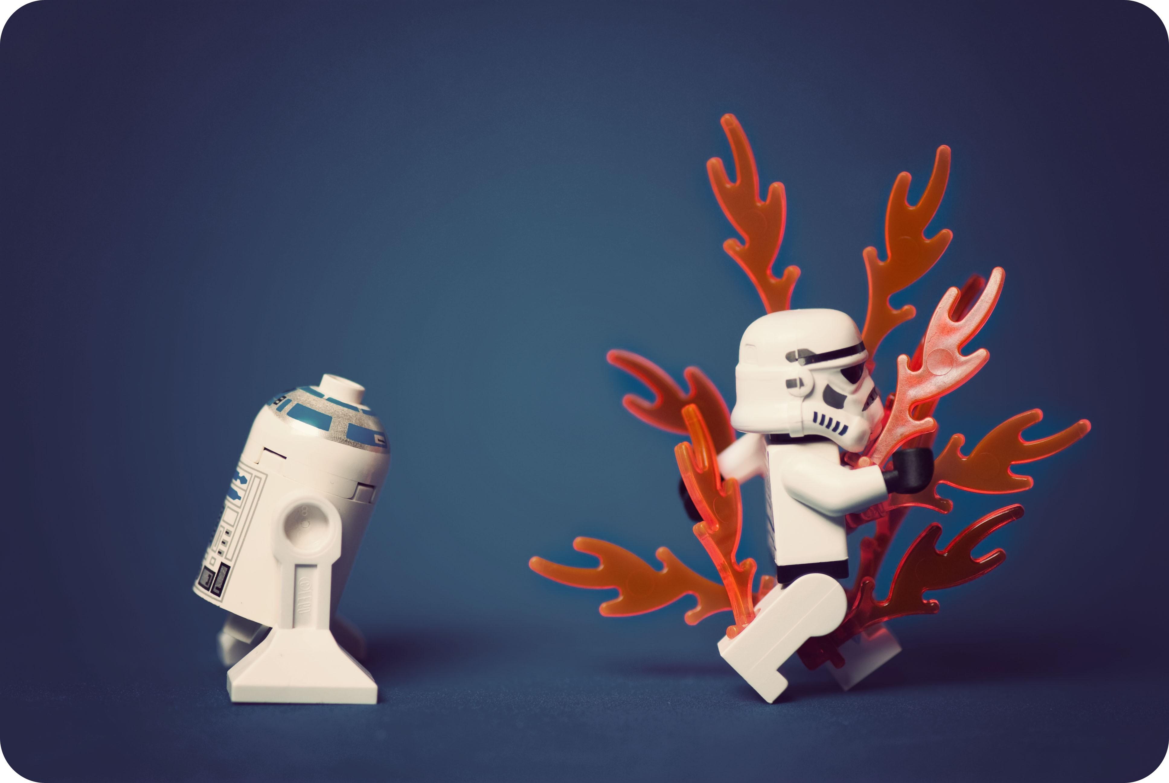 Lego, Star Wars Wallpapers Hd / Desktop And Mobile - Illustration , HD Wallpaper & Backgrounds