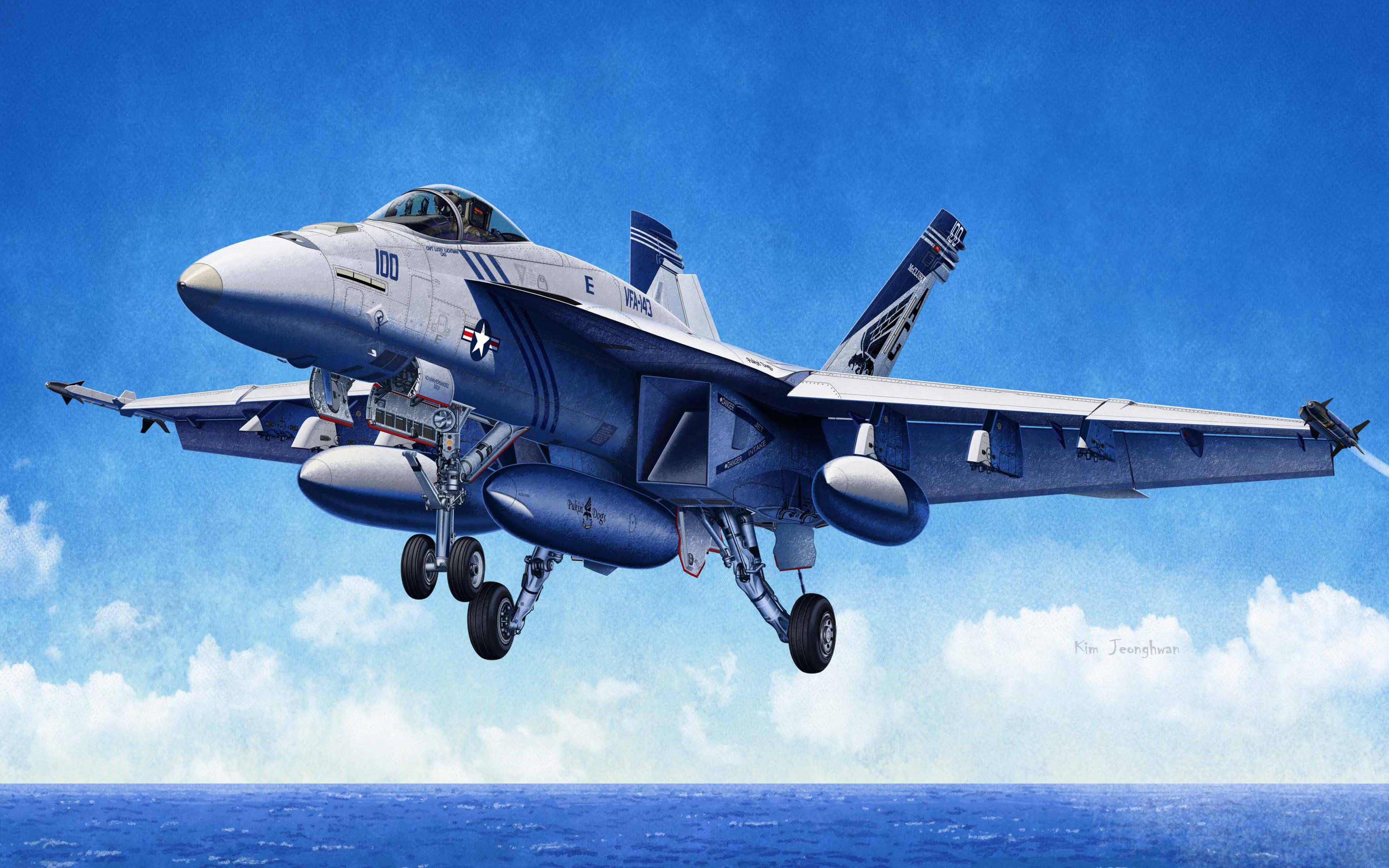 Mcdonnell Douglas Fa 18 Hornet Deck Fighter Military 1 72 F
