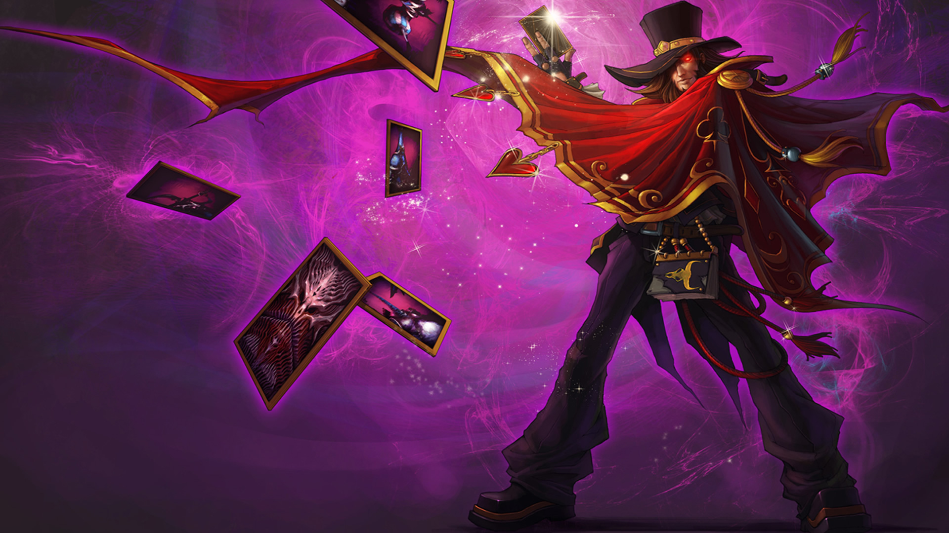Magnificent Twisted Fate Chinese League Of Legends Twisted Fate