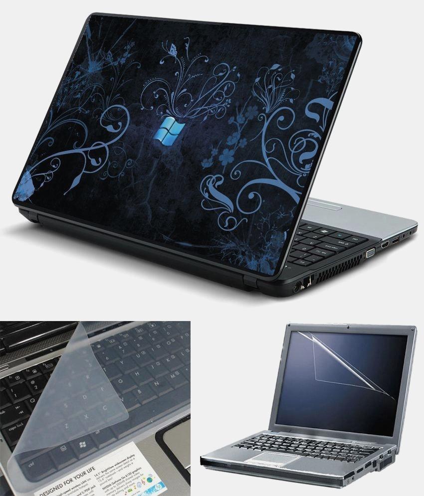 Finest 3 In 1 15 6 Inch Laptop Skin Pack Windows Wallpaper