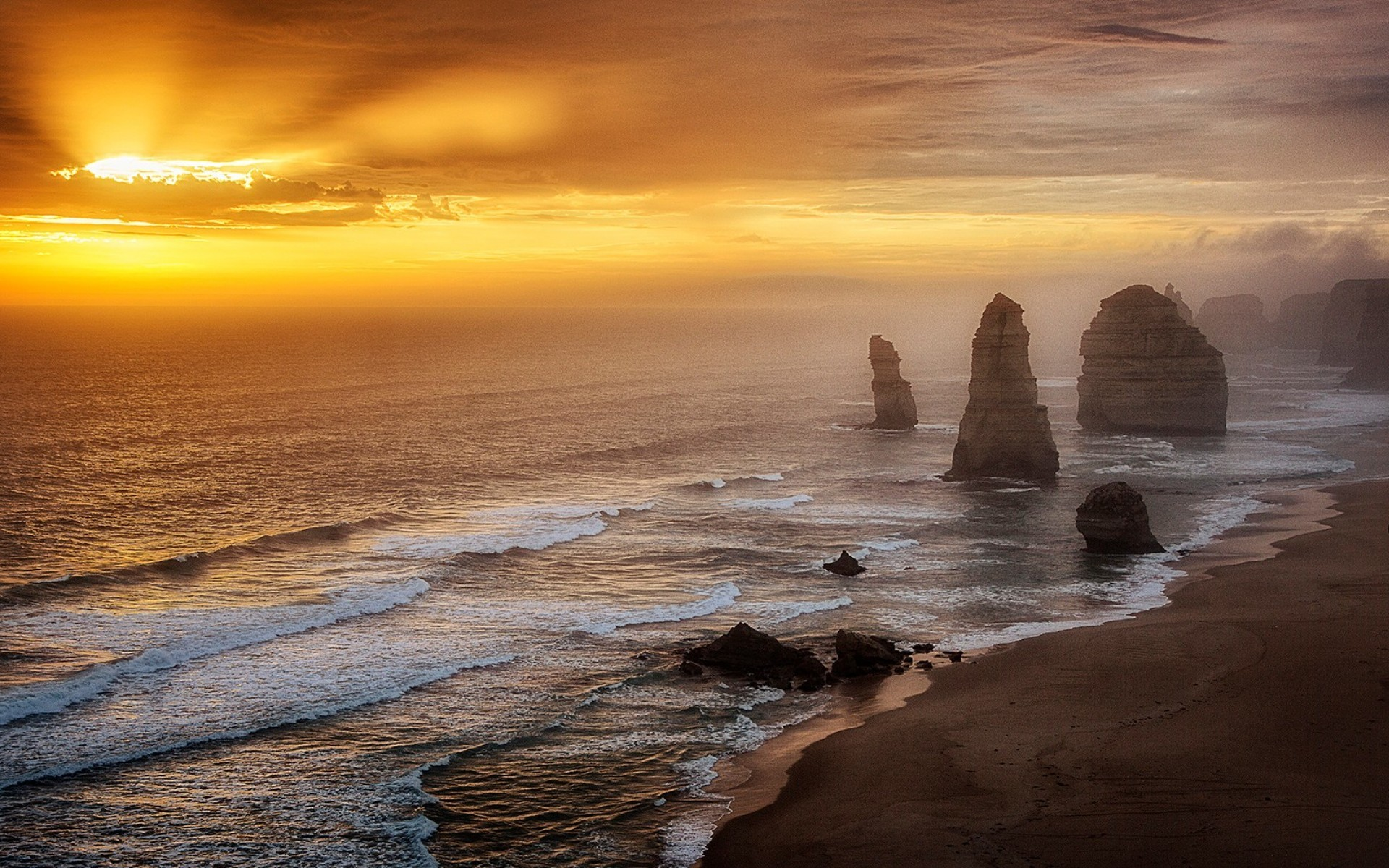 Hd Ocean Scene Wallpaper 862 - Beautiful Scenes Of Australia , HD Wallpaper & Backgrounds