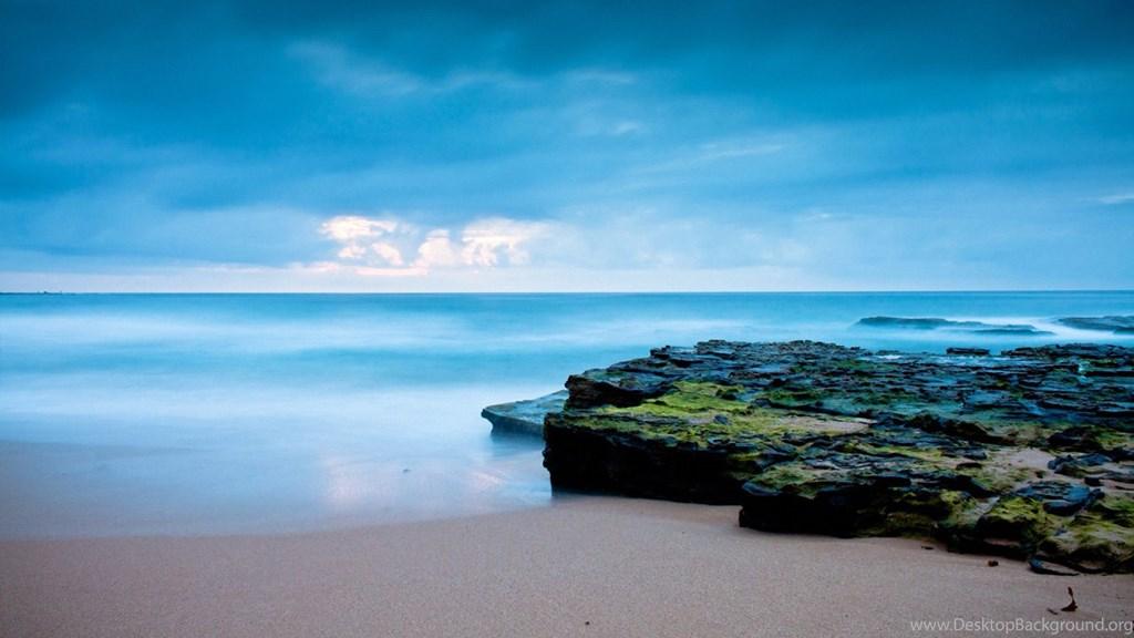 Ocean Beach Beautiful Scenery Wallpapers Hd Hd Desktop