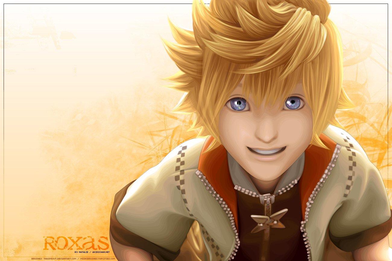 Hd Wallpaper - Roxas Kingdom Hearts Hd , HD Wallpaper & Backgrounds
