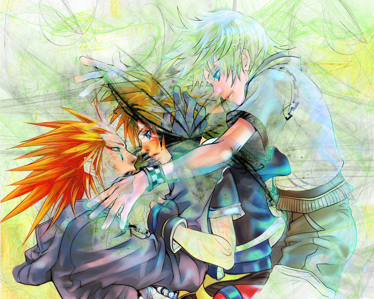 Kingdom Hearts Ii Wallpaper - Illustration , HD Wallpaper & Backgrounds