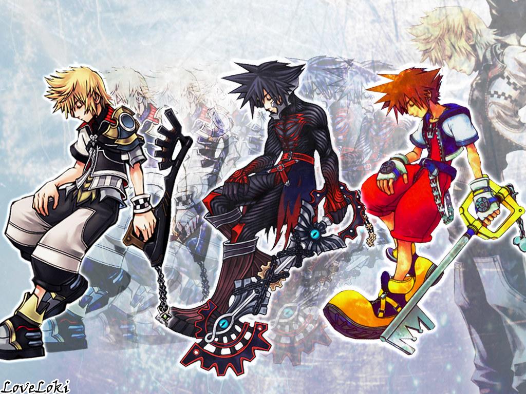 Tags - Kingdom Hearts Wallpaper Roxas , HD Wallpaper & Backgrounds