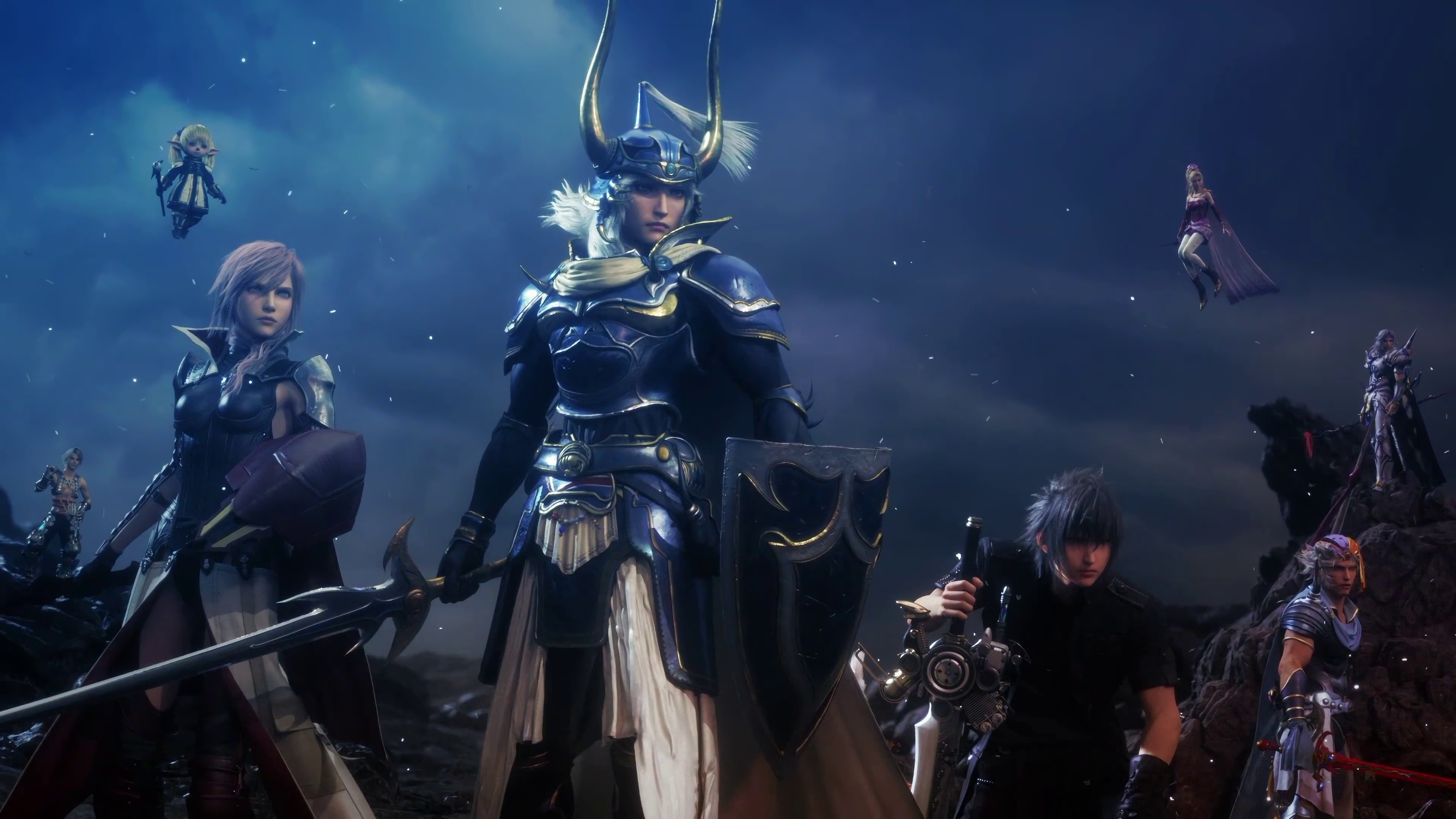 Dissidia Final Fantasy Nt Heroes 4k Wallpaper Dissidia Final