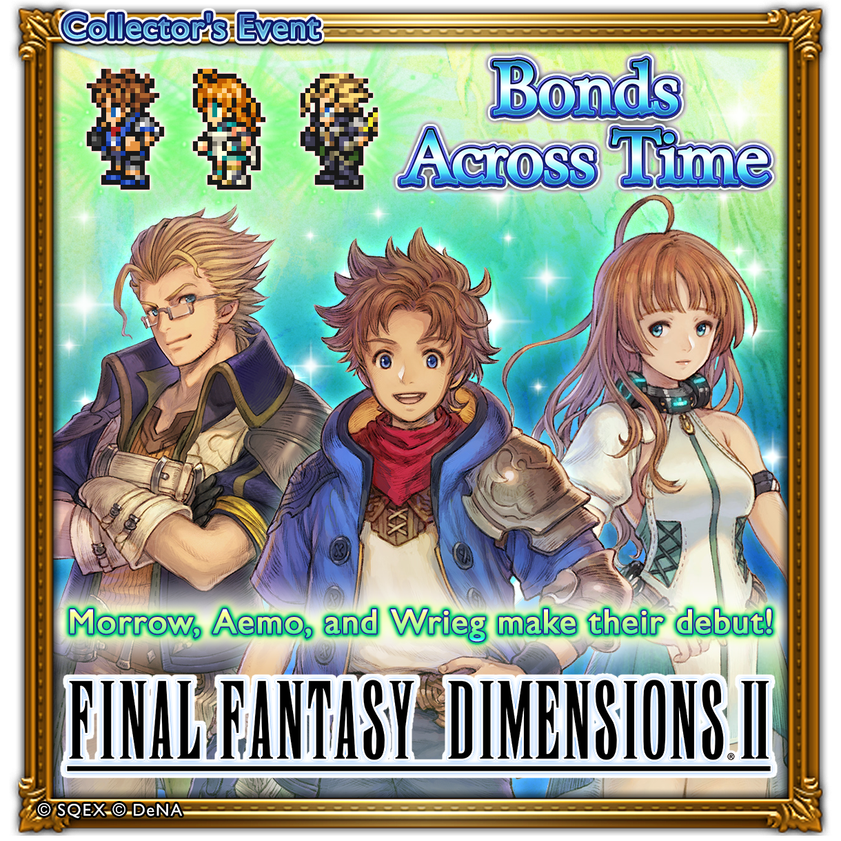 We Re Giving Out A Special Final Fantasy Dimensions Cartoon