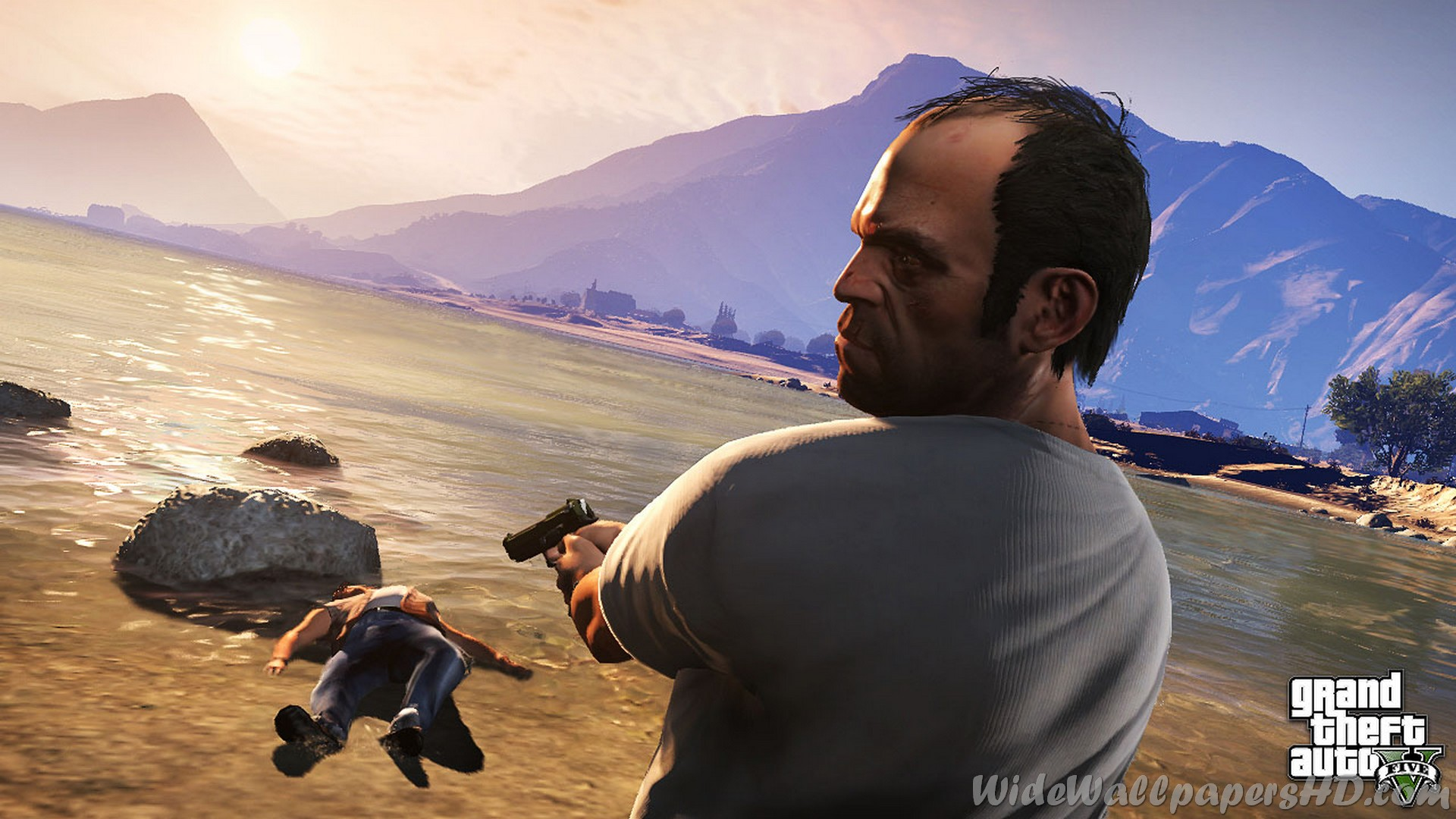 Grand Theft Auto V Wallpaper - Gta Online , HD Wallpaper & Backgrounds