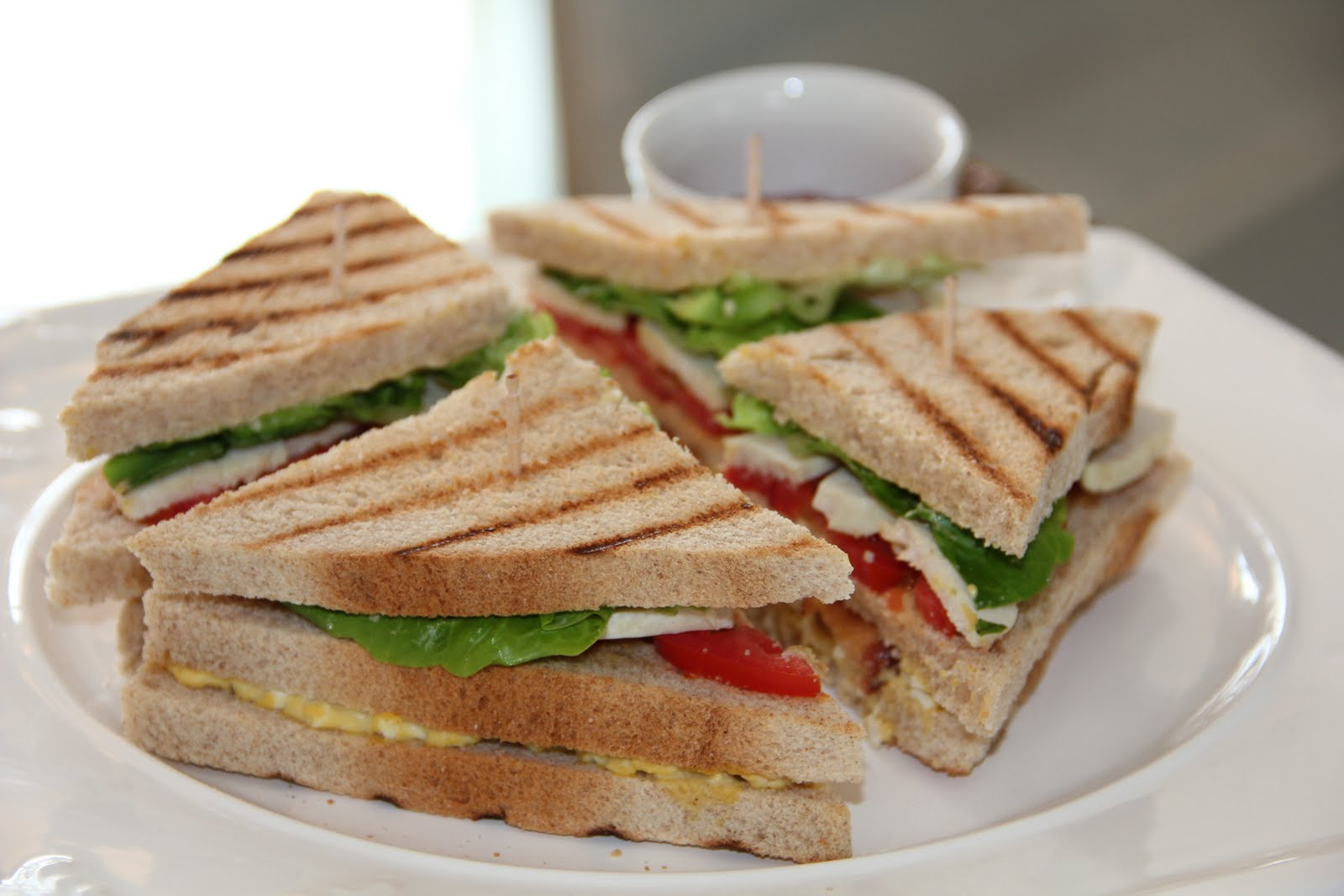 Sandwich Grilled Veg Club Sandwich 1645846 Hd Wallpaper Backgrounds Download