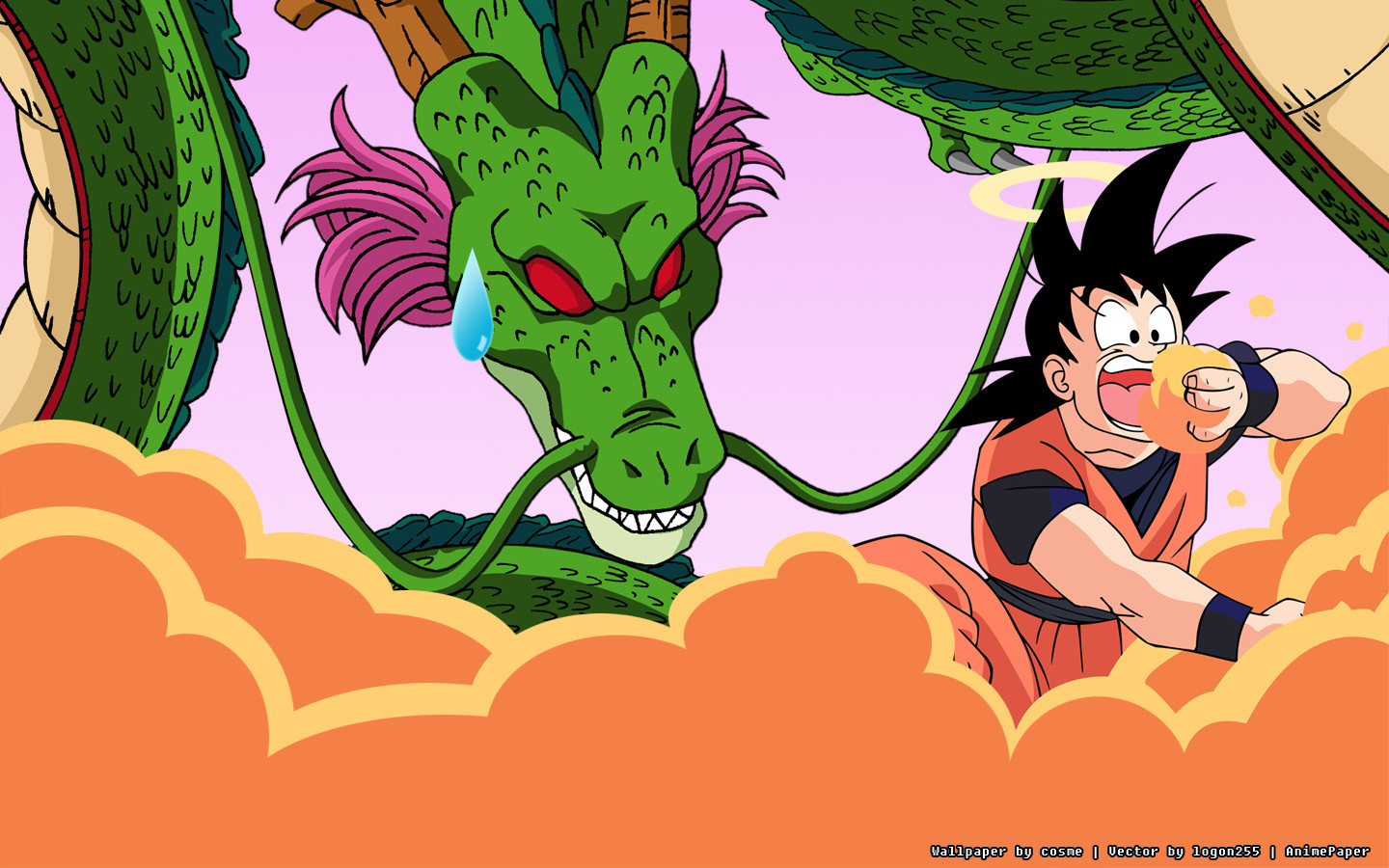 Shenron Wallpaper Source Dragon Ball Shenron And Goku 1648562