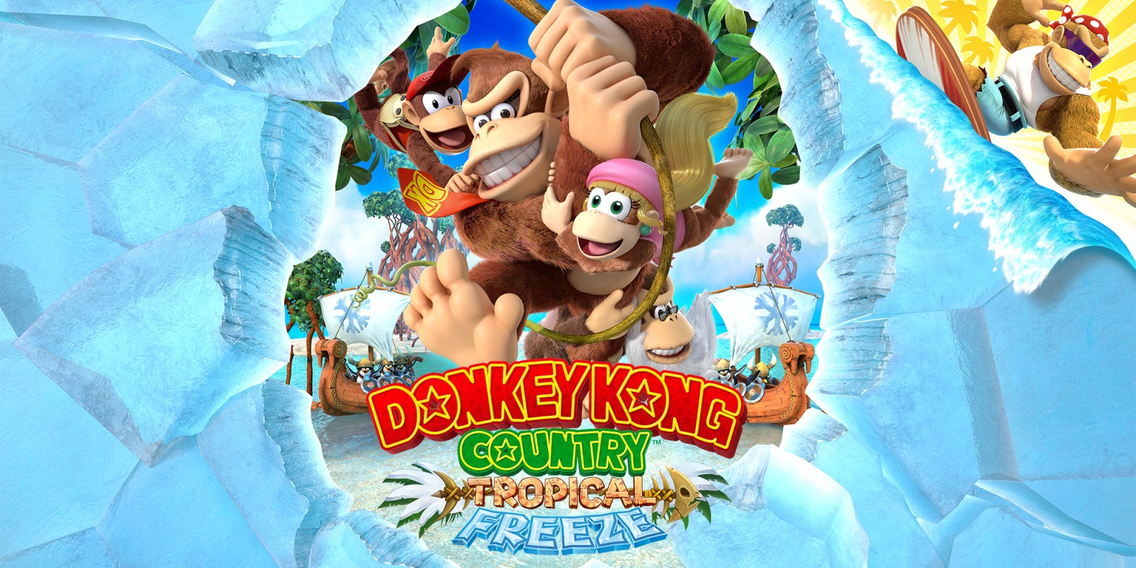 Donkey Kong Country Donkey Kong Country Tropical Freeze
