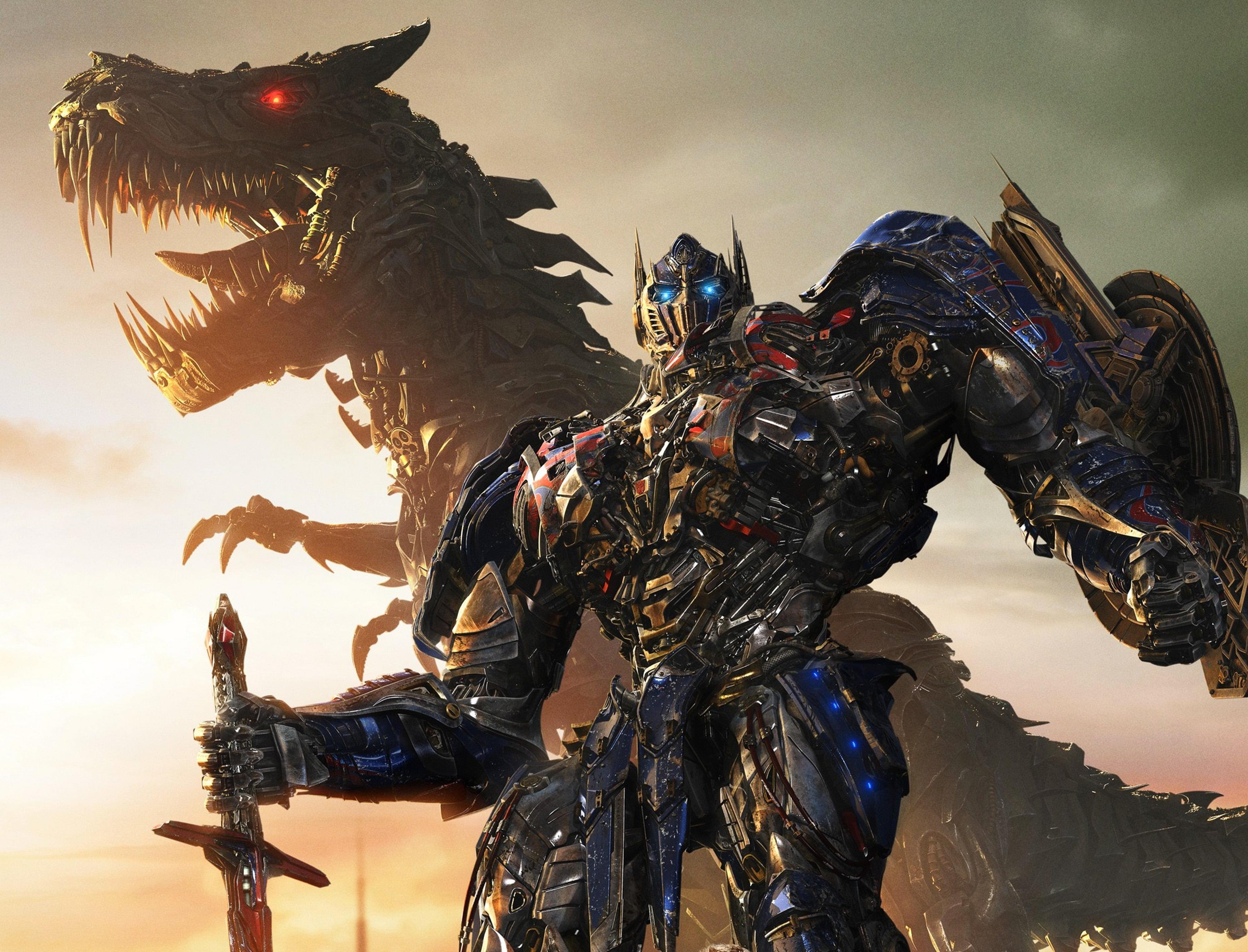 Optimus Prime And Grimlock Hd Wallpaper Transformers 4 1651771