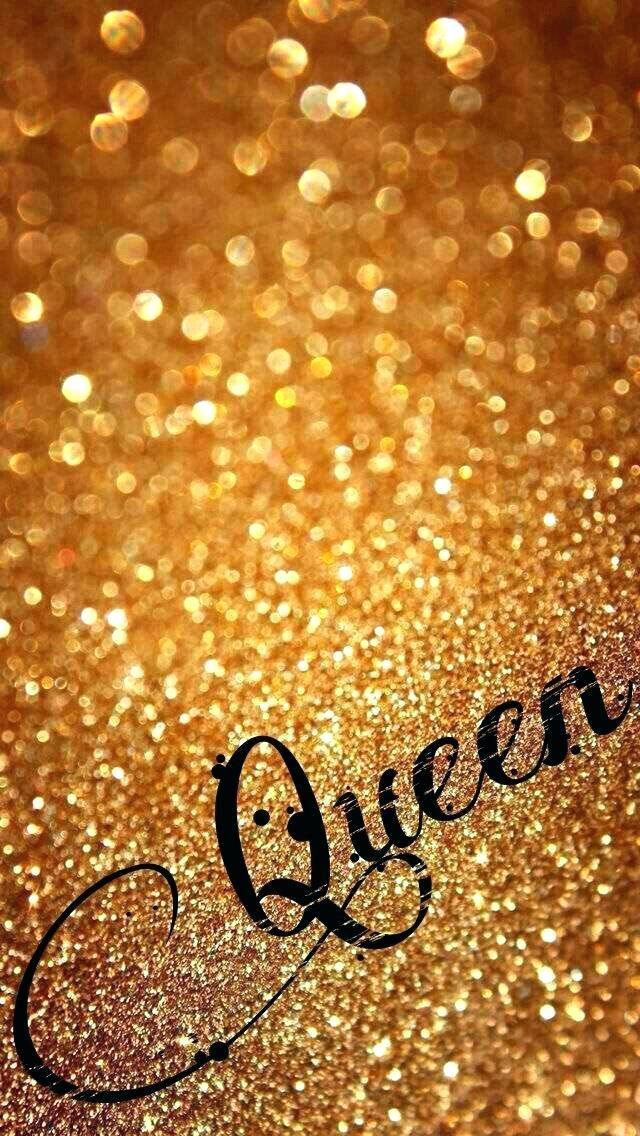 Rose Gold Glitter Wallpaper Sparkle Iphone Queen Wallpaper