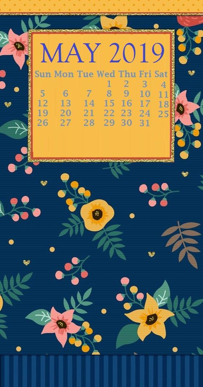 May 2019 Iphone Calendar Beautiful May 2019 Iphone - May 2019 Calendar Iphone , HD Wallpaper & Backgrounds