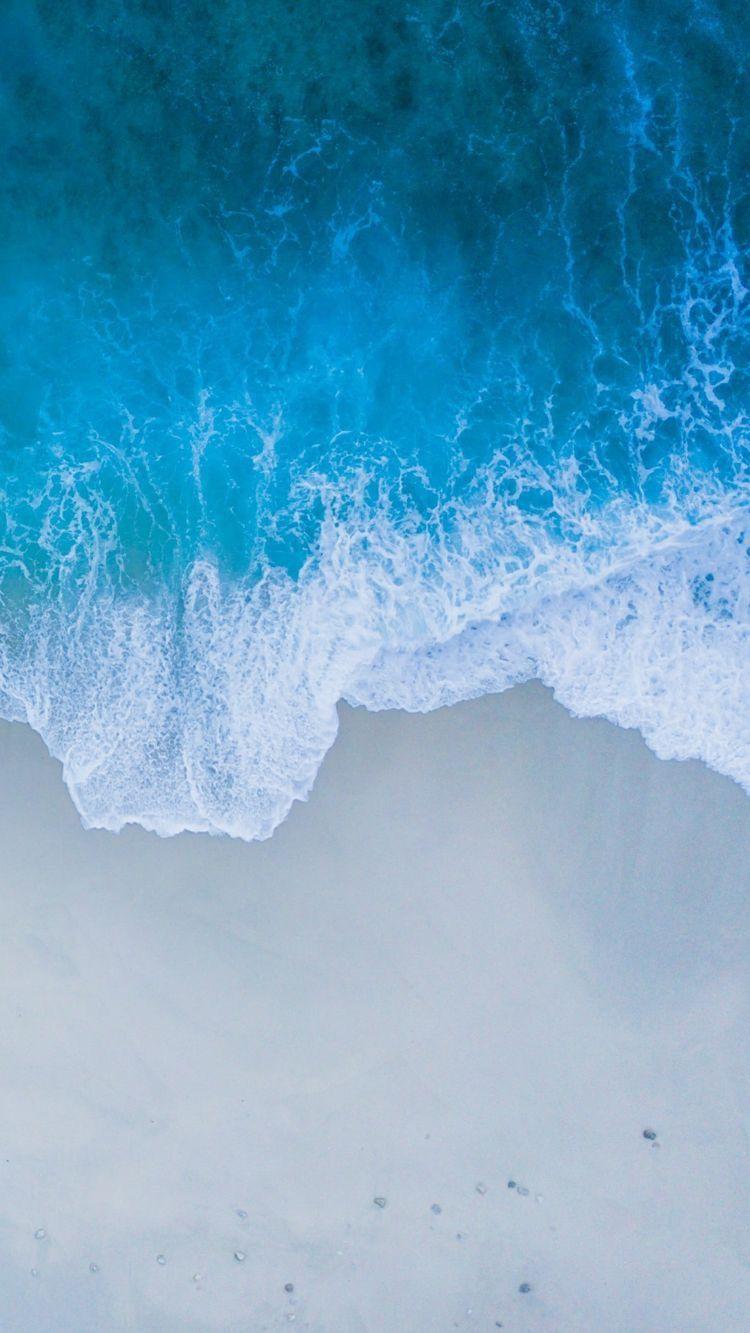 La Belle Mer Ios 11 Wallpaper Ocean Wallpaper Mobile Birds Eye View Of Beach 1654947 Hd Wallpaper Backgrounds Download
