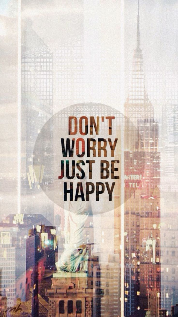 Hipster Wallpaper Iphone 6 - Don T Worry Be Happy Wallpaper Mobile , HD Wallpaper & Backgrounds