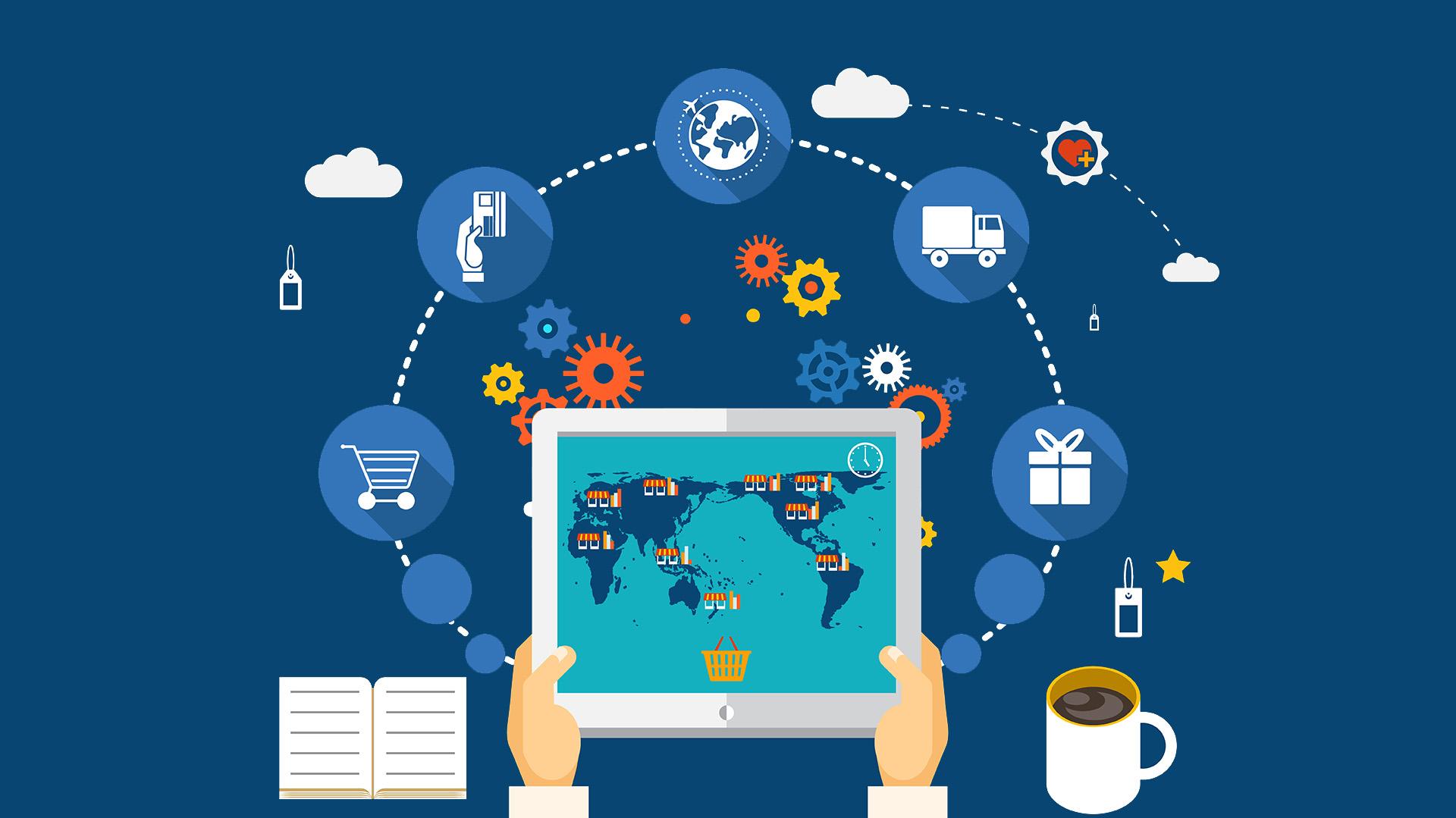 Wallpaper-2 - Blockchain Global Supply Chain (#1655886) - HD ...