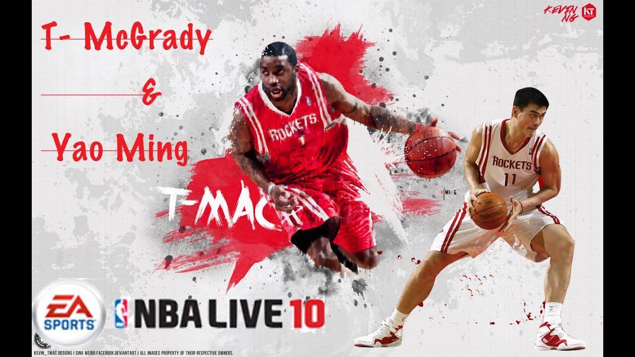 Nba Live - Yao Ming Rockets , HD Wallpaper & Backgrounds