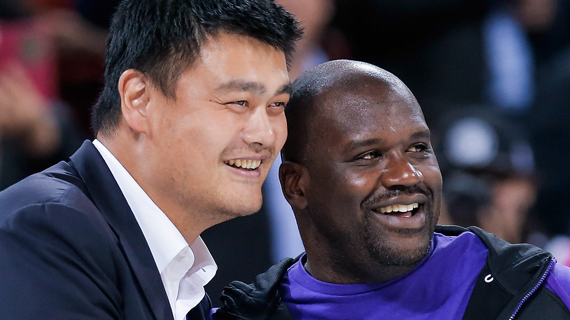 Shaq, On Eve Of Hall Induction, Says Young Yao Ming - Yao Ming And Shaq O Neal , HD Wallpaper & Backgrounds