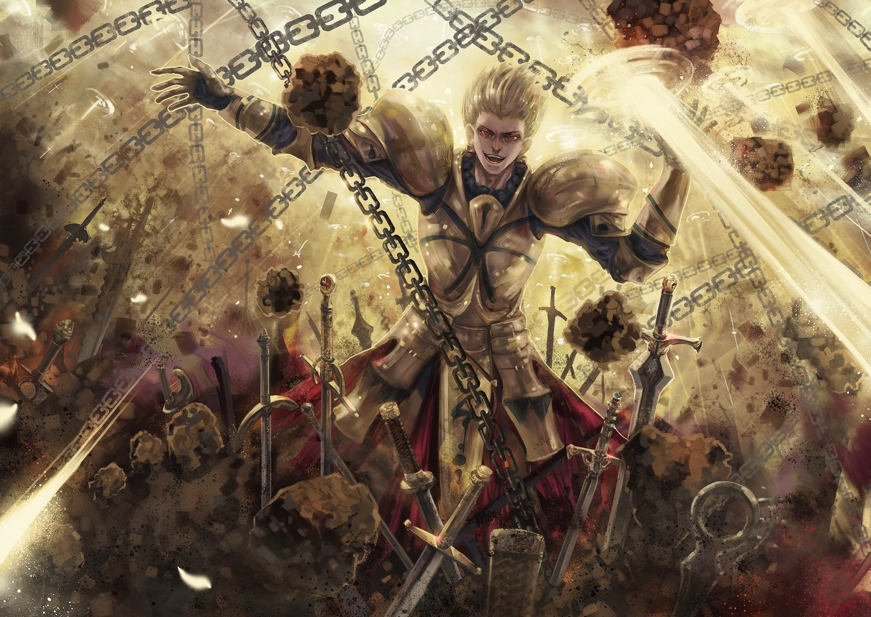 Hd Wallpaper Fate Zero Gilgamesh 1660367 Hd Wallpaper