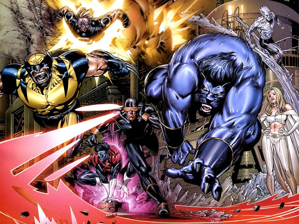 X Men Nightcrawler Comic Wallpaper X Men Endangered Species