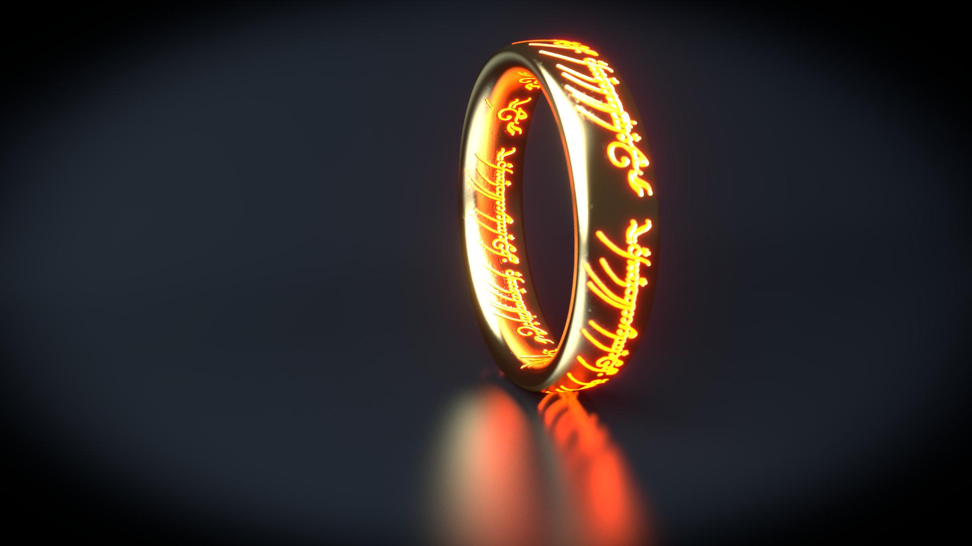 Tolkien Wallpapers Lord Of The Rings Light Up Ring 1664227