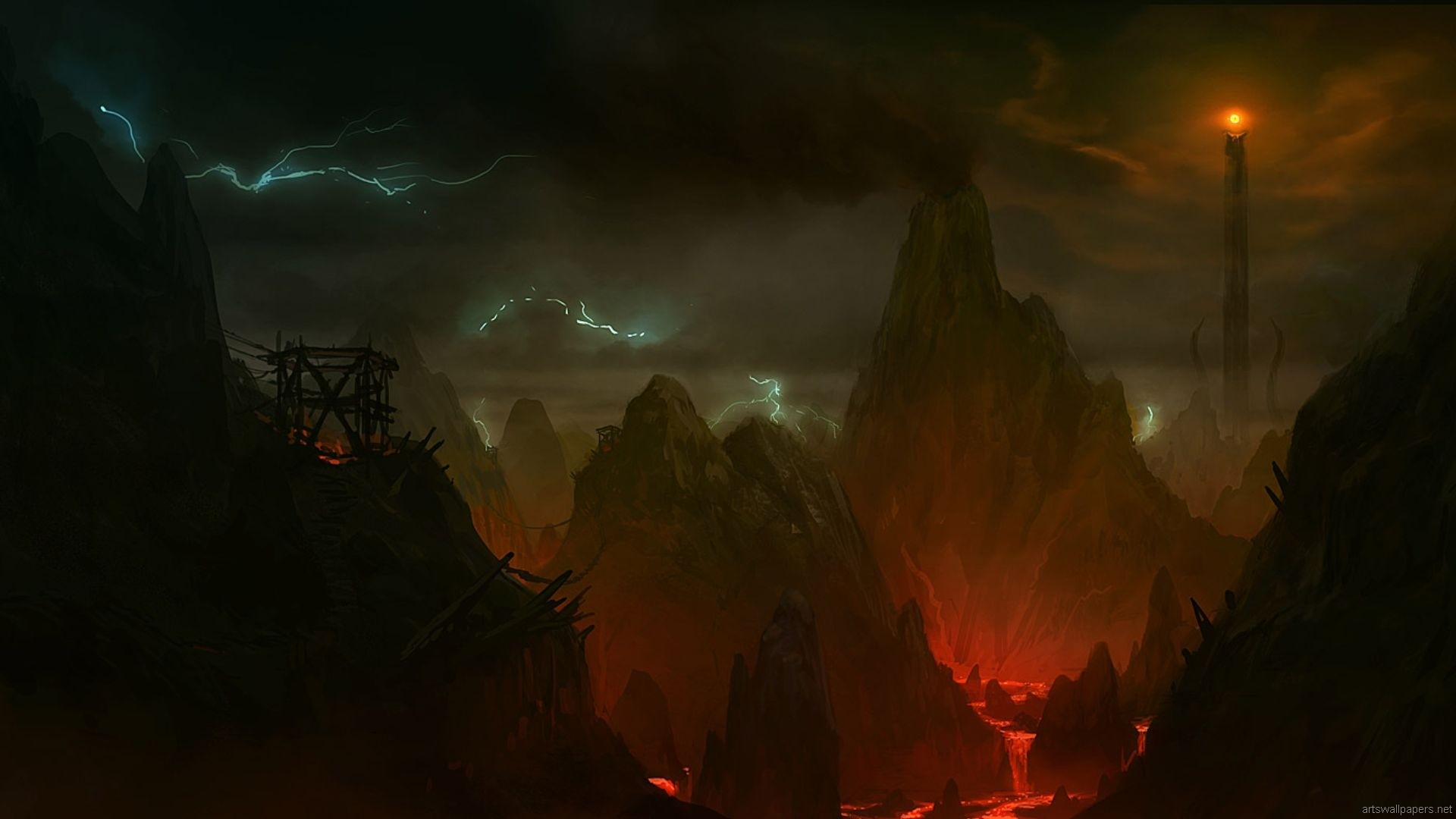 Tolkien Wallpapers Lord Of The Rings Wallpaper Mordor