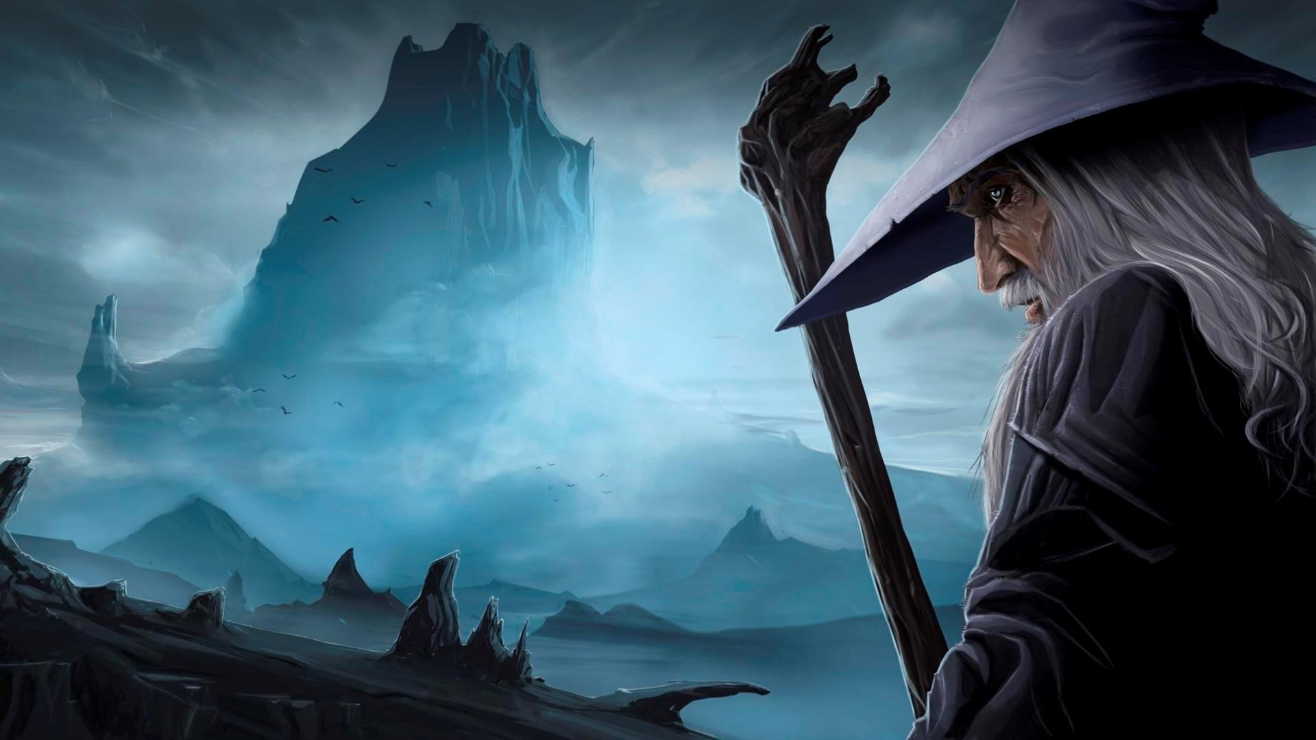 Lord Of The Rings Wallpaper Blue 1664418 Hd Wallpaper