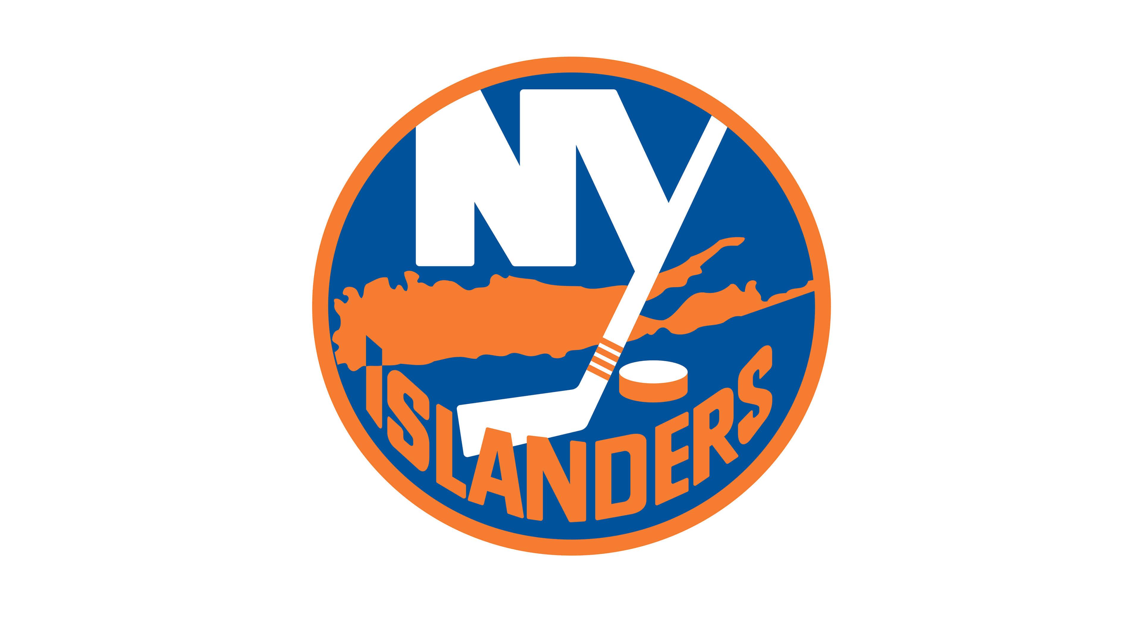 New York Islanders Nhl Logo Uhd 4k Wallpaper - New York Islanders Logo , HD Wallpaper & Backgrounds