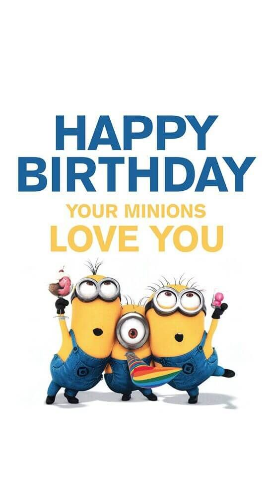 Funny Happy Birthday Messages Minions Funny Wallpapers