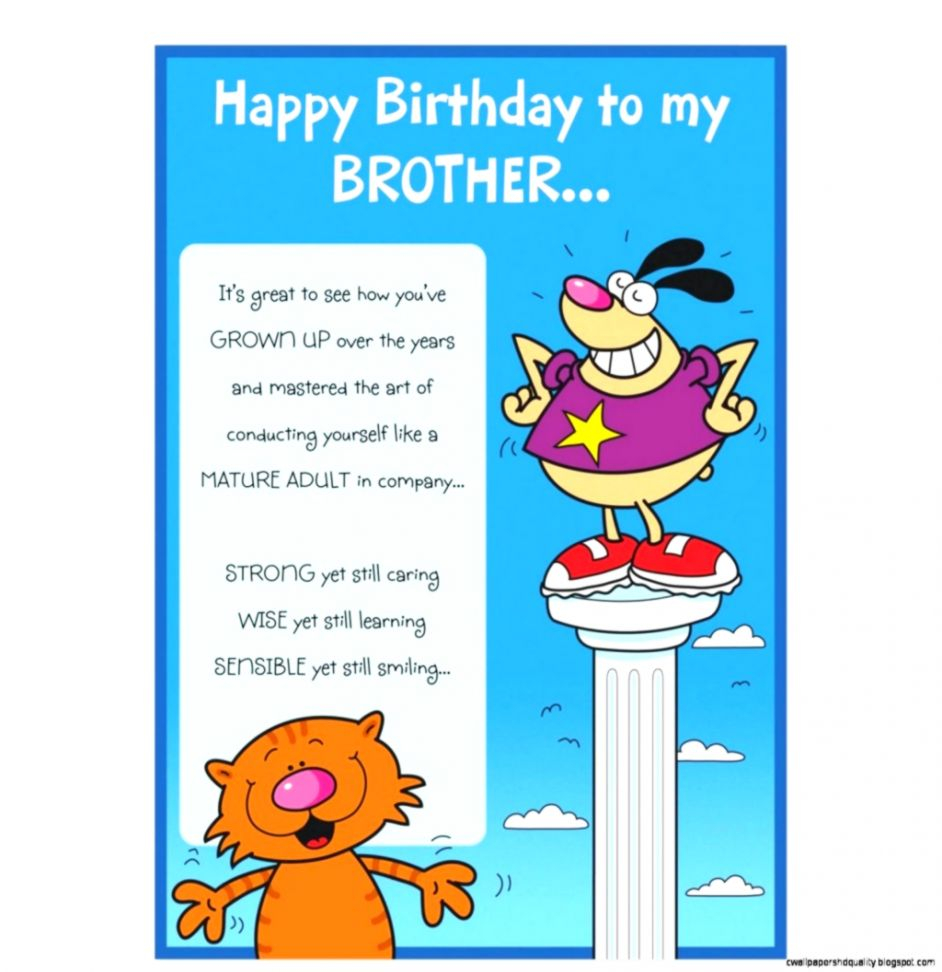 Excelent Happy Birthday Wishes For Brother In Law Funny