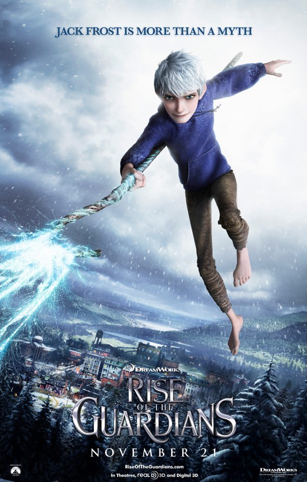 Rise Of The Guardians Poster Jack Frost Picture - Jack Frost Poster Rise Of The Guardians , HD Wallpaper & Backgrounds