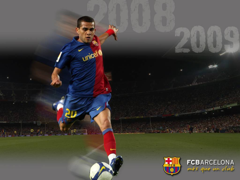 Dani Alves Desktop Wallpaper Fc Barcelona 1670913 Hd Wallpaper Backgrounds Download