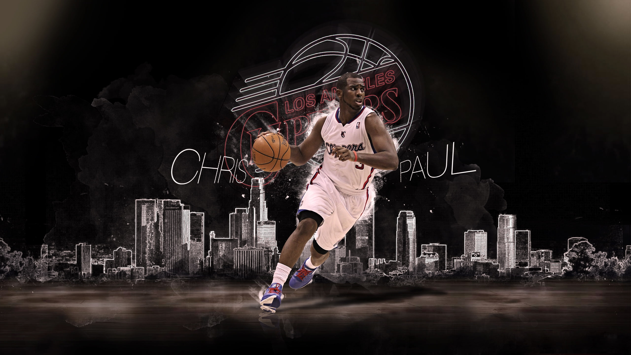 Chris Paul Los Angeles Clippers, Sportsman - Lakers Wallpaper Of Kobe , HD Wallpaper & Backgrounds