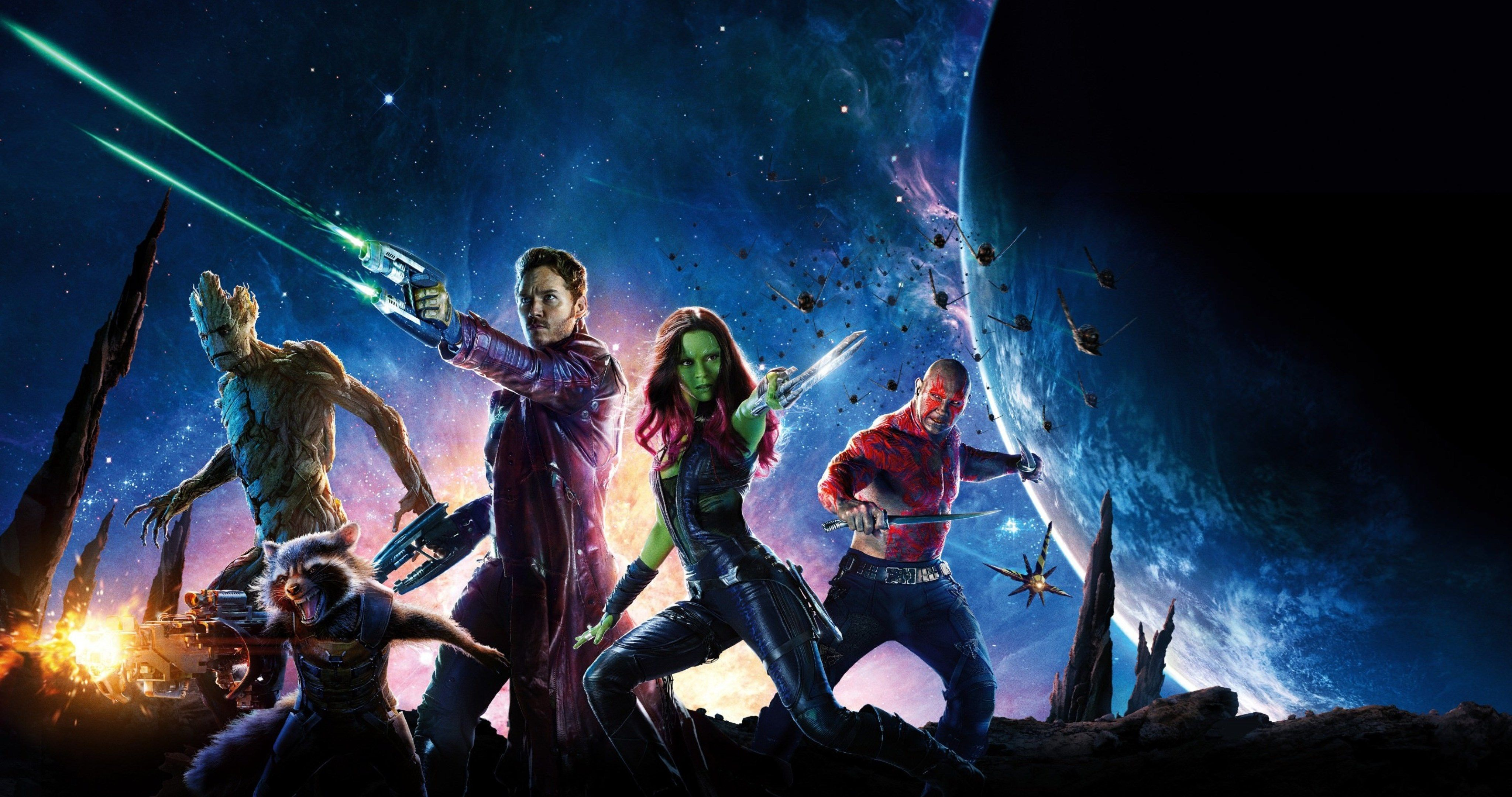 Guardians Of The Galaxy Wallpaper 4k , HD Wallpaper & Backgrounds