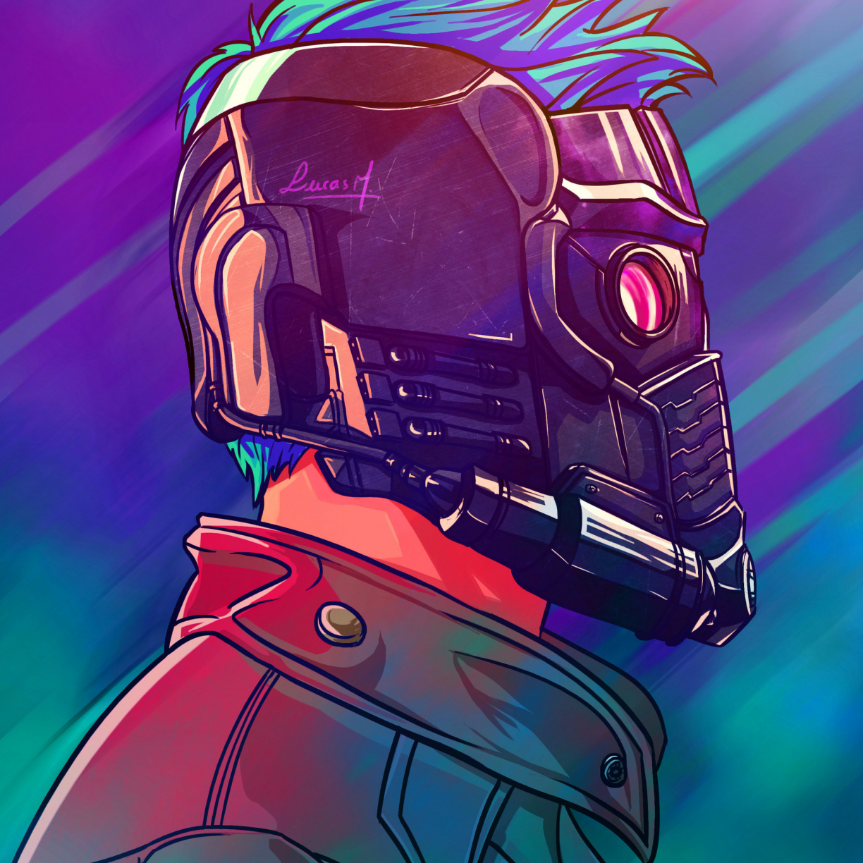 Wallpaper Star Lord Guardians Of The Galaxy Superhero