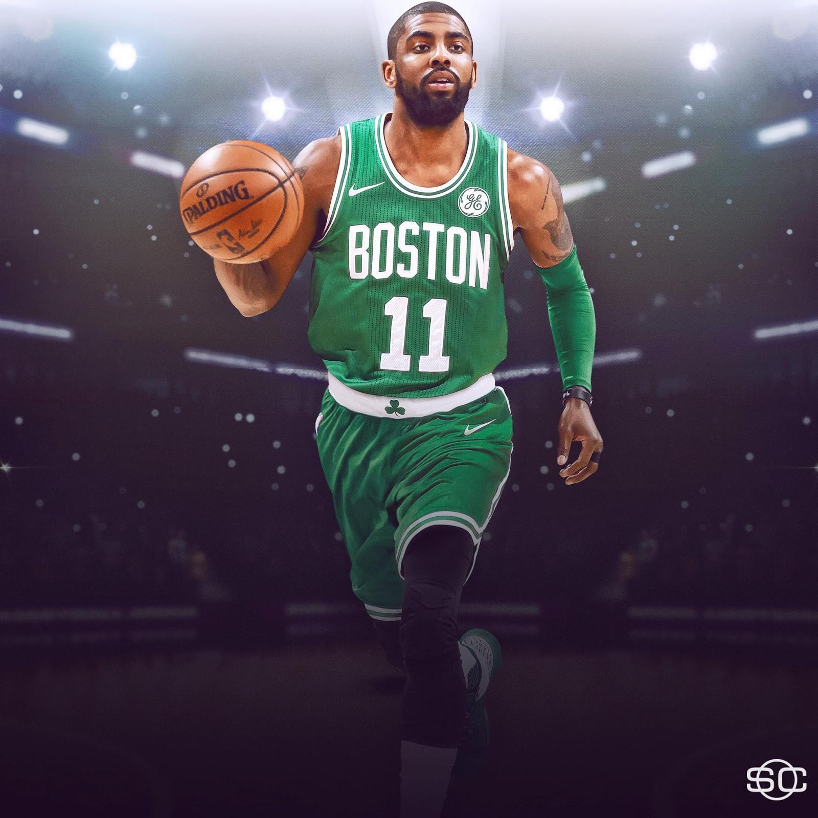 Nba Boston Celtics Kyrie Irving 1677731 Hd Wallpaper