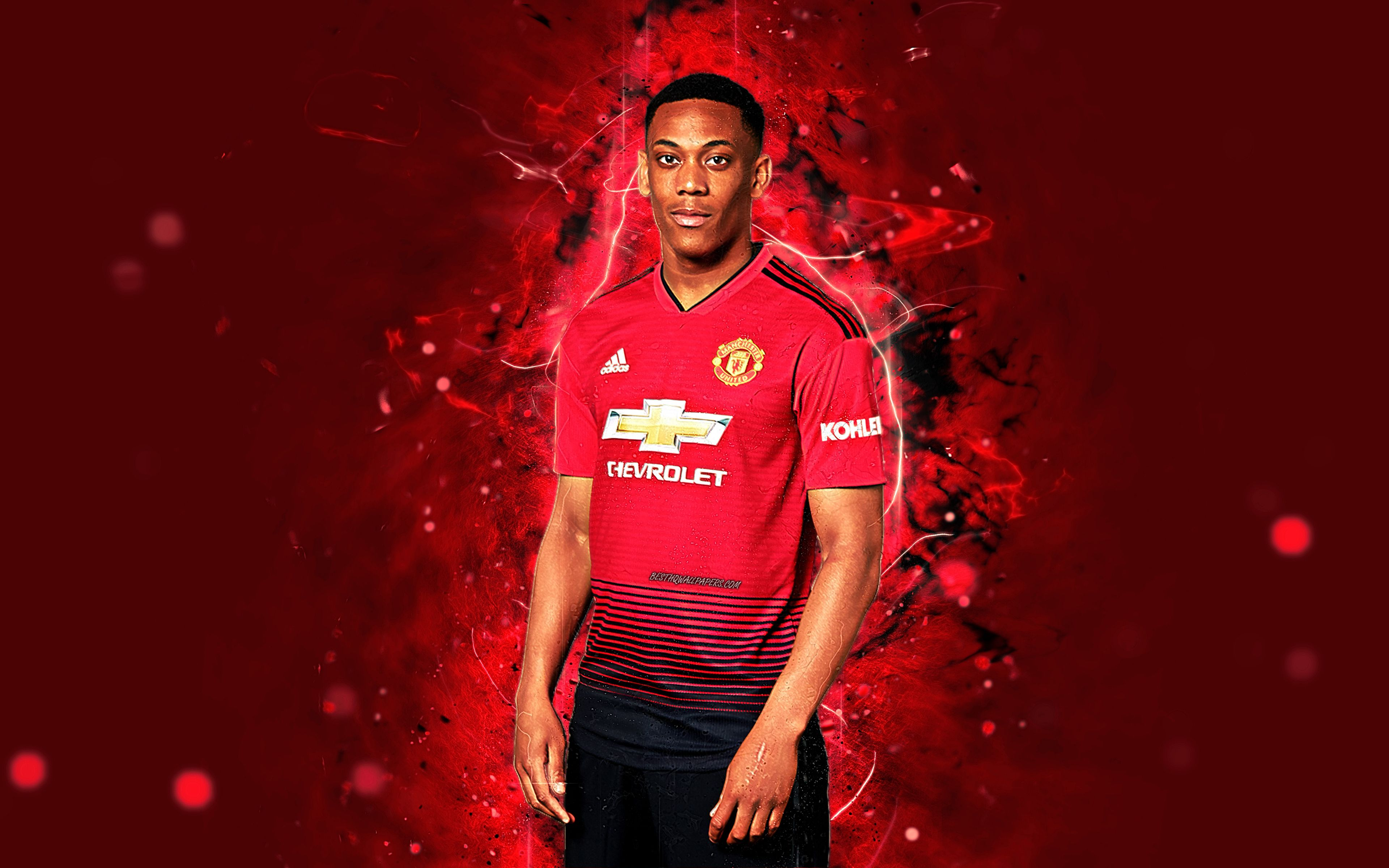 1 2 Jersi Manchester United 2019 HD Wallpaper