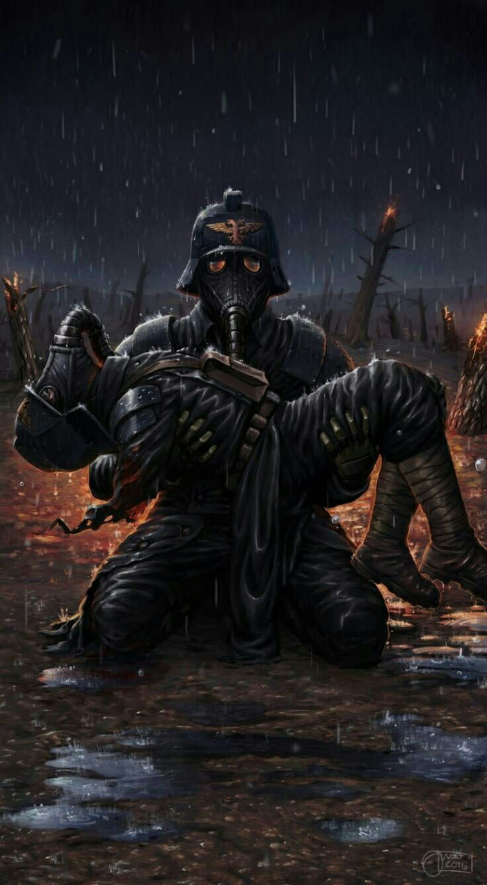 Death Korps Of Krieg Artwork Warhammer 40k Imperial Guard