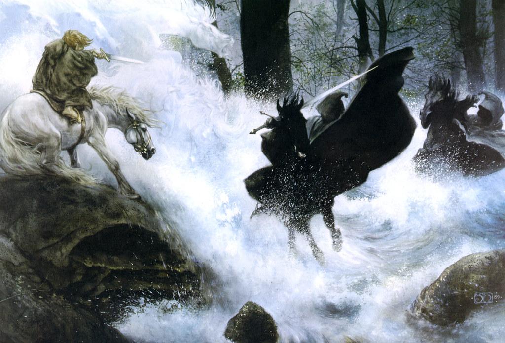 Lordoftherings (fiore - John Howe Tolkien Illustrations , HD Wallpaper & Backgrounds