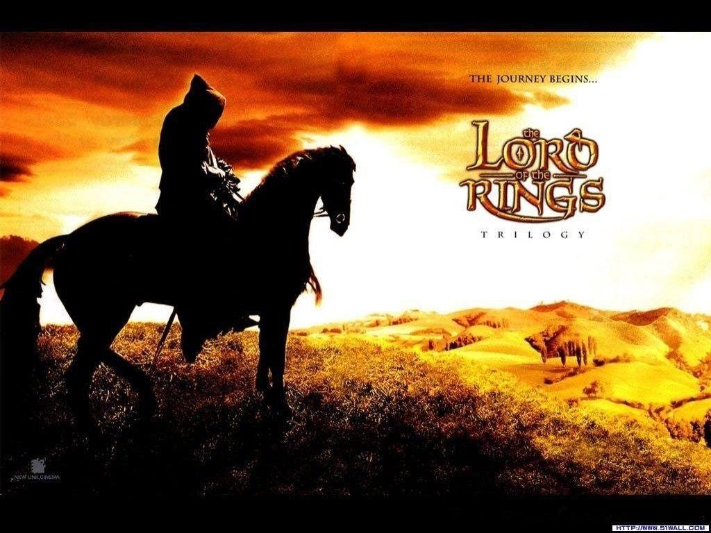 Silhouette Der Herr Der Ringe Pferde Nazgul Ringgeist - Silhouette Seigneur Des Anneaux , HD Wallpaper & Backgrounds